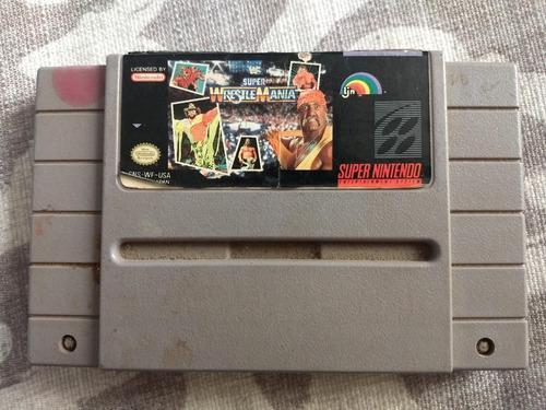 Juegos Super Nintendo 3x2 Super Wrestlemania