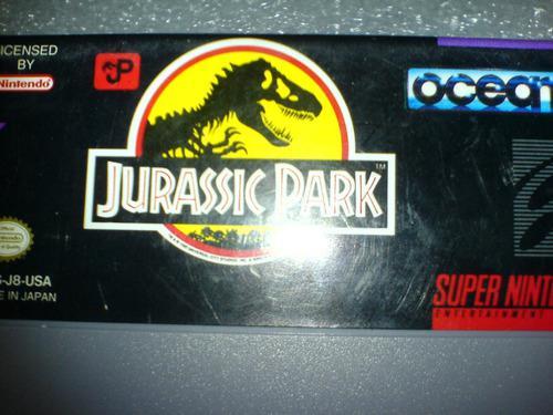 Jurassic Park Juego De Super Nes Wsl
