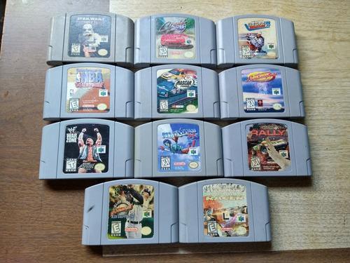 Lote De 11 Juegos Para Nintendo 64