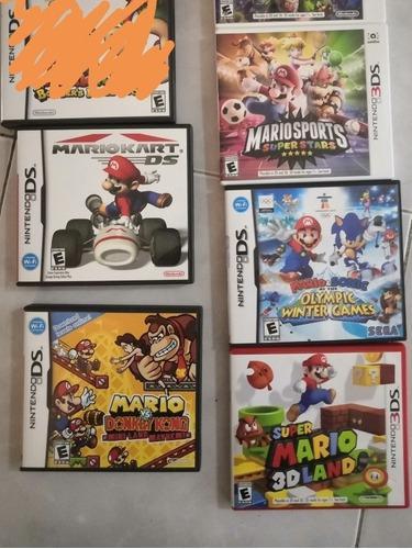 Lote De 5 Juegos Nintendo 3ds