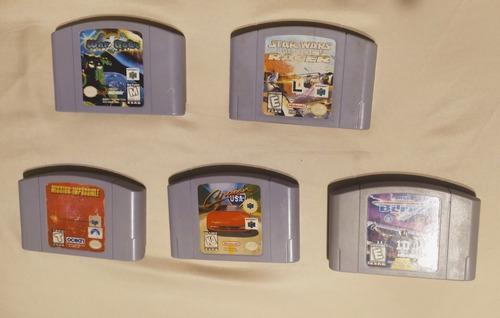 Lote De 8 Juegos Para Nintendo 64
