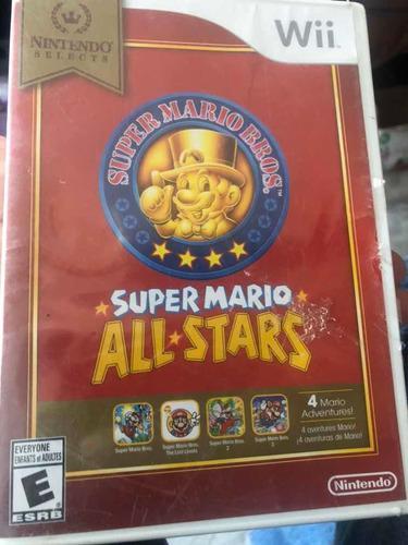 Mario All Stars Video Juego De Nintendo Wii