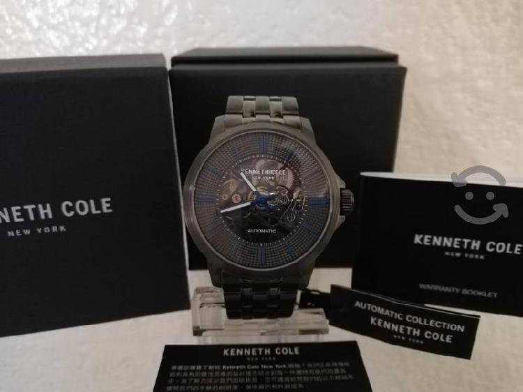 Reloj Kanneth Cole Automatico, Acero Pavonado.