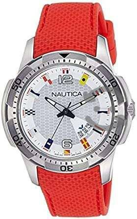 Reloj Nautica Naranja Nai 13513g
