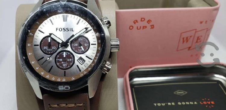 Reloj fossil cronógrafo