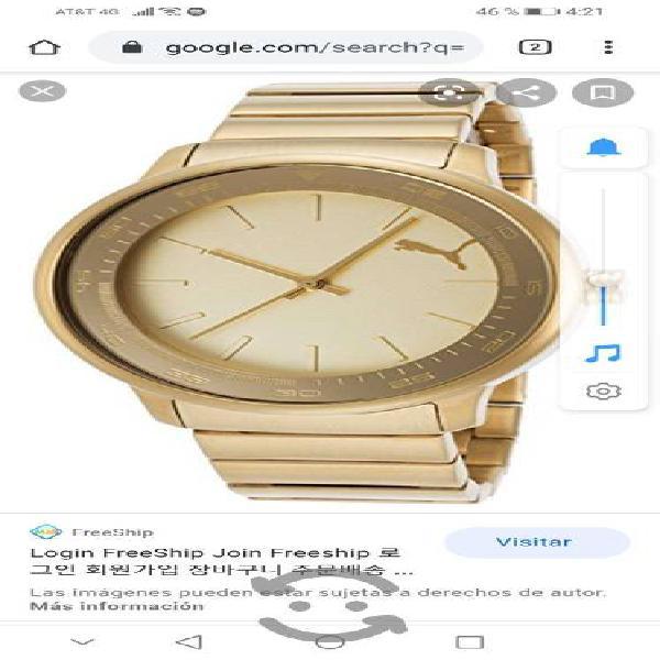 Reloj puma original