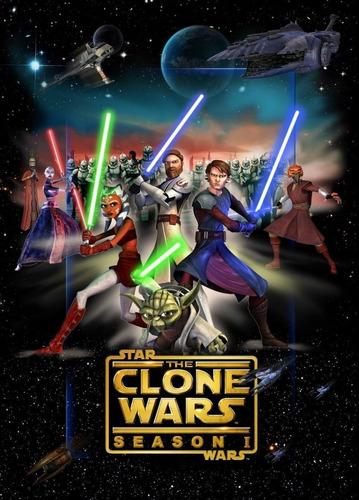Star Wars La Guerra De Los Clones 1-6 Full Hd