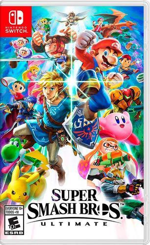 Super Smash Bros Ultimate Nintendo Switch Juego Karzov