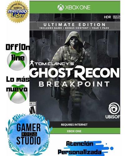 Tom Clancys Ghost Recon Break Point Ultimate Edition Xone