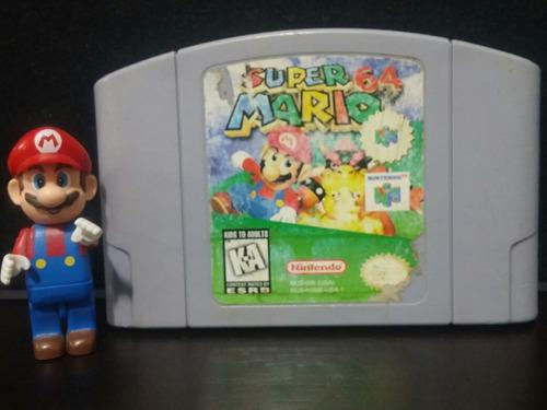Video Juego Super Mario 64 Para Nintendo 64