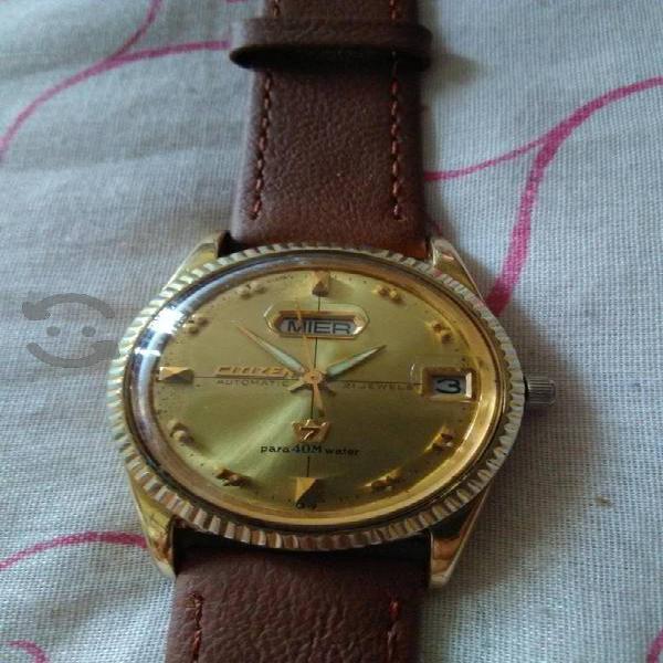 reloj Citizen Automático chapa de oro
