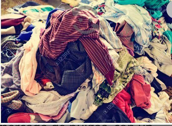 vendo lote de ropa usada en muy buen estado