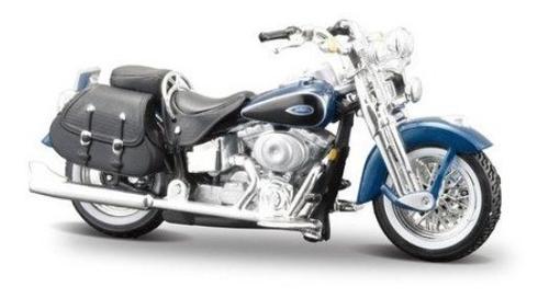 1:24 Harley Davidson Hd Moto Coleccion Miniaturas Maisto