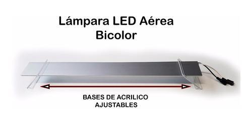 80cm Lámpara Led Aérea Bicolor Acuario Apagadores