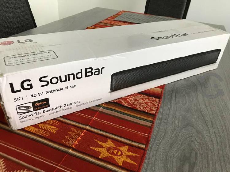 Barra de sonido LG SK1 Nueva!!!