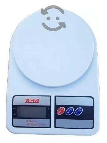 Bascula Digital Gramera de Cocina 1gr a 10 Kilos,