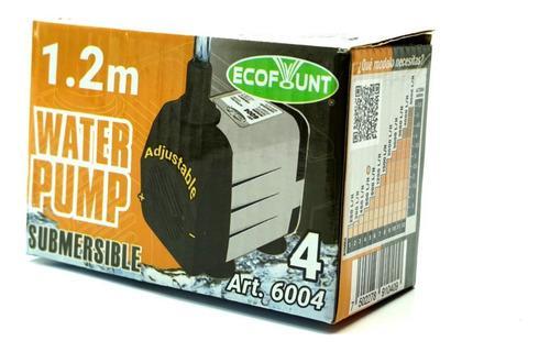 Bomba De Agua Sumergible Fuente Acuario 1.2m Eco