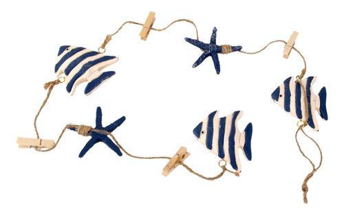 Colgante Peces Tropicales Estrellas De Mar Foto Clip De Nota