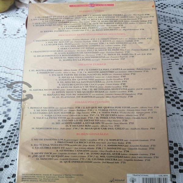 Discos de las 5 Leyendas de Cuba