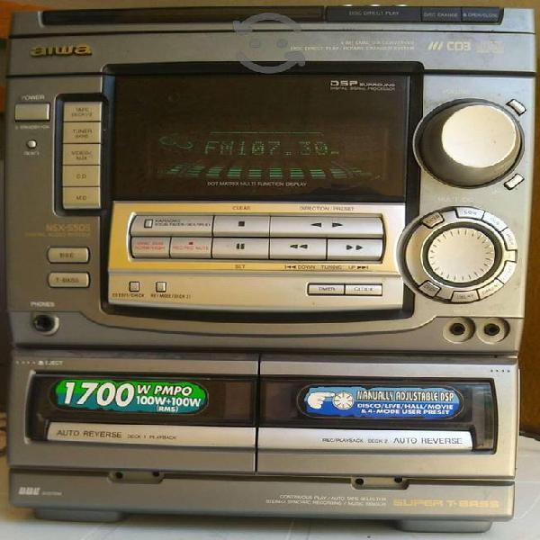 Equipo de Audio Aiwa NSX-S50S