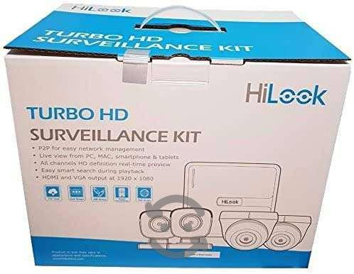KIT CCTV HILOOK MOD.KIT7204BP DVR, 4 CAMARAS 720P