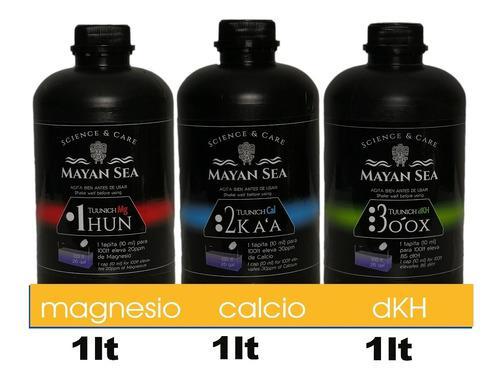 Kit Aditivos Para Corales Calcio, Magnesio Dkh