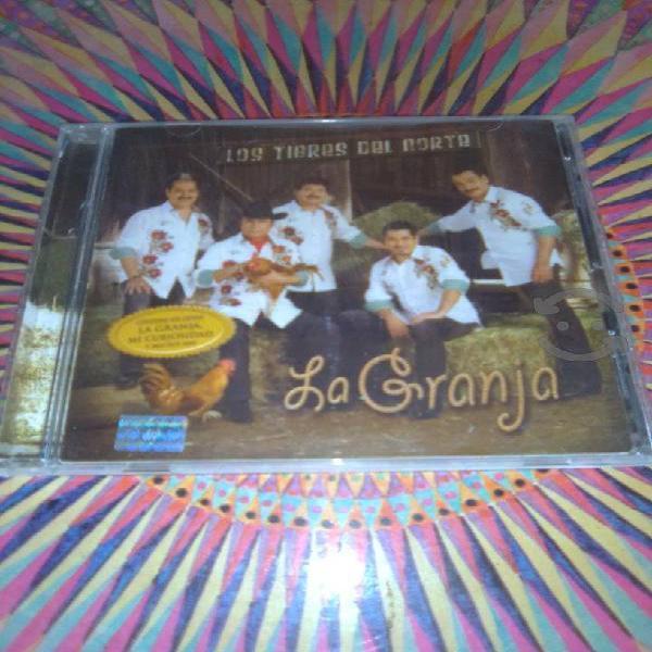"""LOS TIGRES DEL NORTE """"LA GRANJA"""" CD AUTOGRAFIADO"""