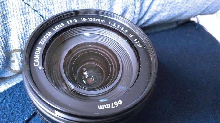 Lente Canon 18-135mm STM