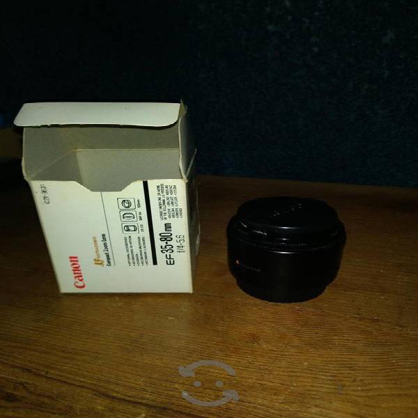 Lente Canon EF 35-80 mm sin usar
