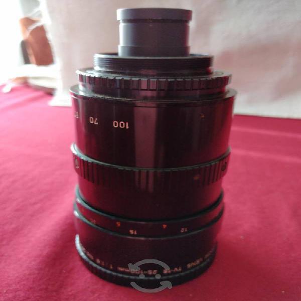 Lente canon 25-100 mm
