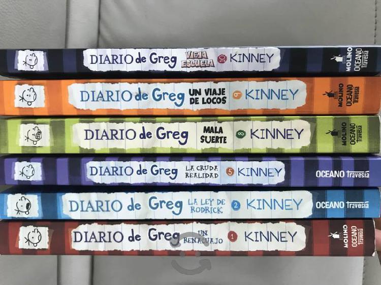 Libros Diario de Greg en español