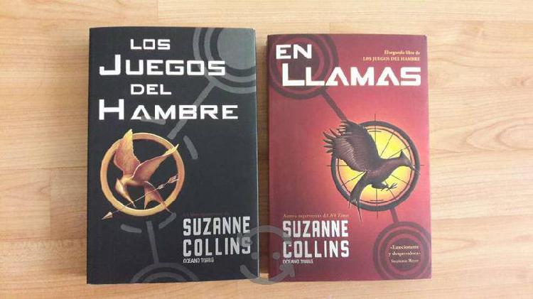 """Libros """"Los Juegos del hambre"""" Suzanne Collins"""