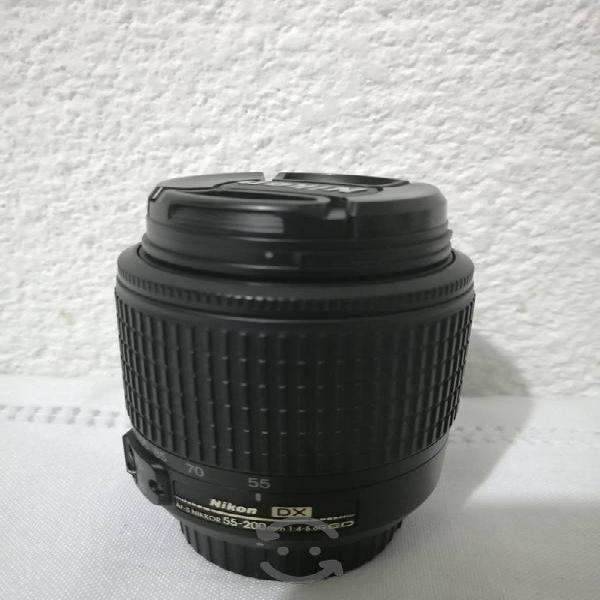 Nikon Lente 55-200mm (precio a tratar)