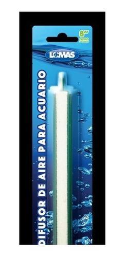 Piedra Aireadora 20 Cm - Base Plástico Para Acuario