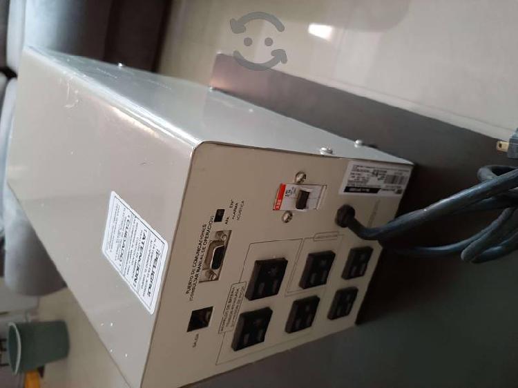 Regulador de corriente con carga