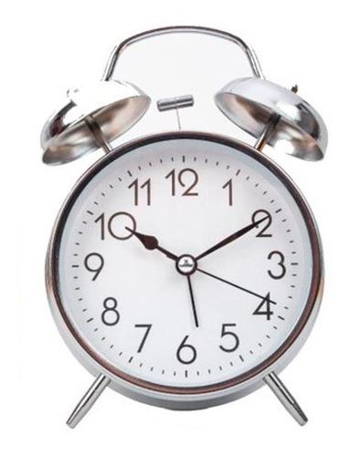 Reloj Despertador Campana Manecillas Y Luz G0aa Envio Gratis
