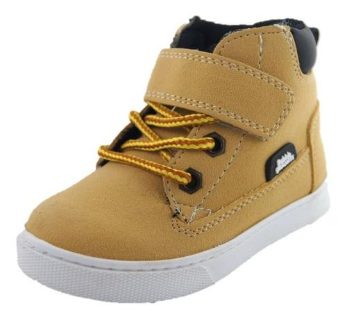 Tenis Bota Niño Bubble Gummers Howard Yellow Mostaza 15-21