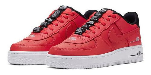 Tenis Nike Air Force 1 Lv8 Laser Crimson Originales En Caja