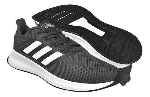 Tenis Para Correr adidas Runfalcon Hombre R239662-1 Gris