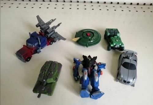 Transformers Miniatura Tomy Hasbro Optimus Prime Y Platillo