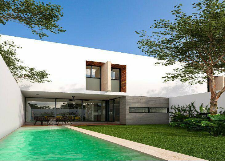 Villas de Lujo en Privada Temozón Norte Mérida en venta