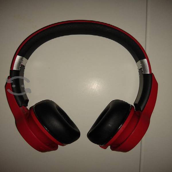 audífonos Bluetooth monster wireles rojos