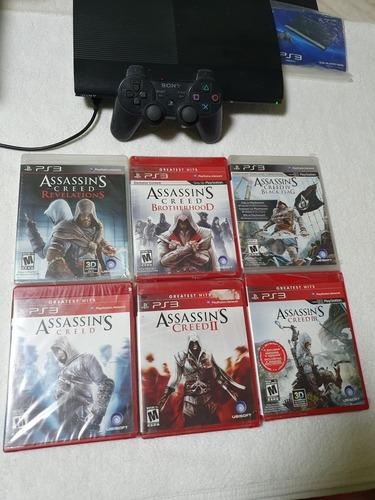 Assassin's Creed Ps3 Collection 6 Juegos