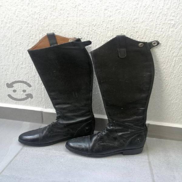 Botas de piel para equitación