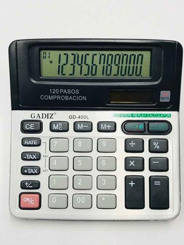 Calculadora De Escritorio Gadiz Modelo Gd-400l