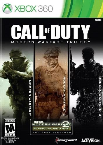 Call Of Duty Modern Warfare Xbox 360 One Paquete Digital