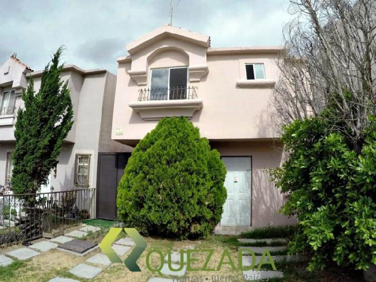 Casa en renta al norte de Aguascalientes, Fracc. El Molino a
