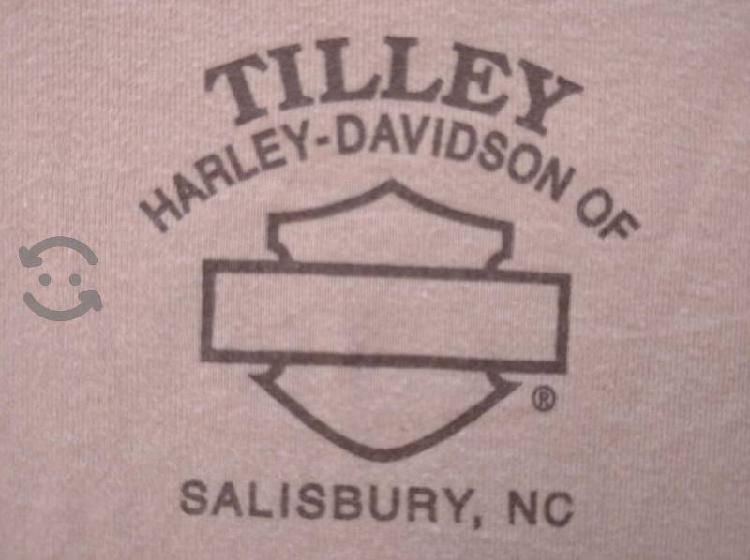 De colección playera mujer Harley Davidson mediana