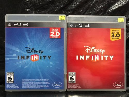 Disney Infinity 2.0 + Disney Infinity 3.0 Ps3 (solo Juegos)