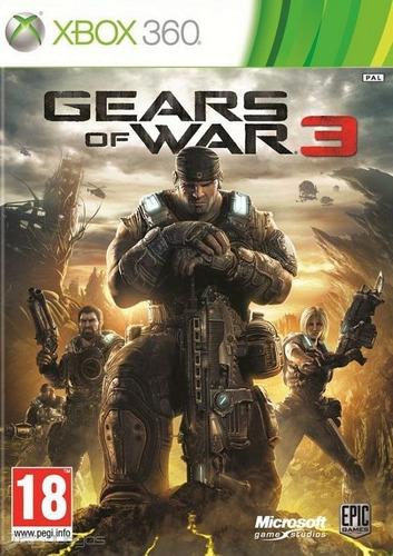 Gears Of War 3 Xbox 360/one - Código Digital